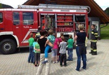 Brandschutzübung VS Oppenberg 2013