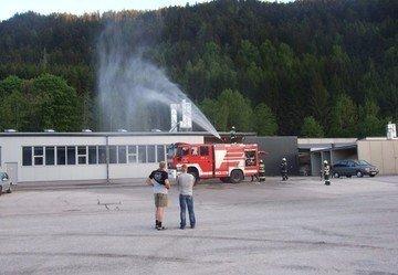 Brandschutzübung Firma Deisl 2013